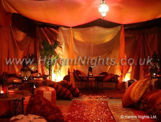 Moroccan tents hire bedouin tents hire arabian marquee for Arabian themed bedroom ideas