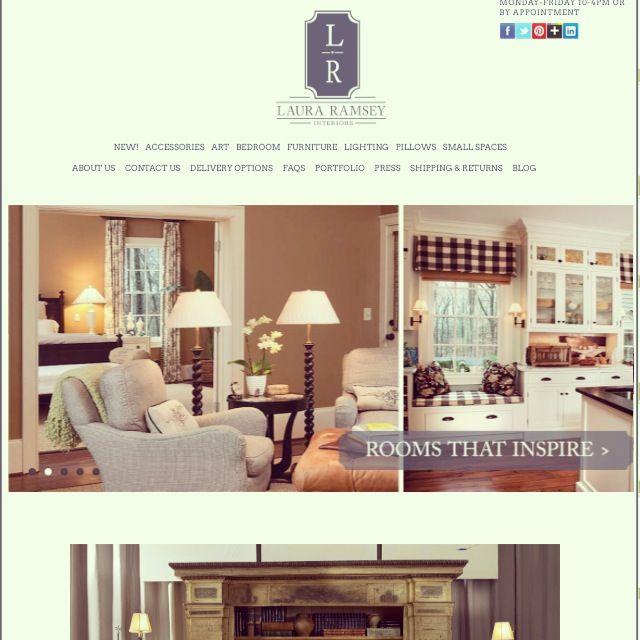 Laura Ramsey Furniture U0026 Interiors | Shop Online At  Www.lauraramseyinteriors.com #lauraramseyinteriors