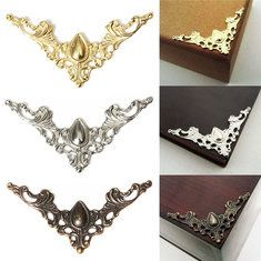 12pcs Jewelry Box Gift Wine Case Book Scrapbook Album Corner Decorative Protector