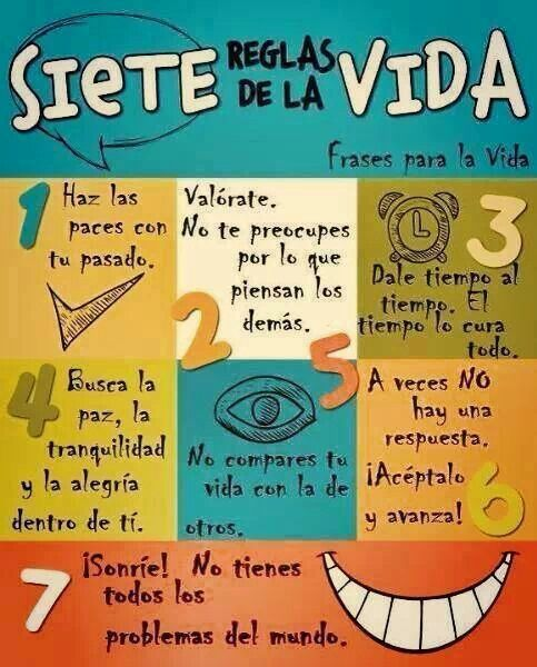 Siete reglas
