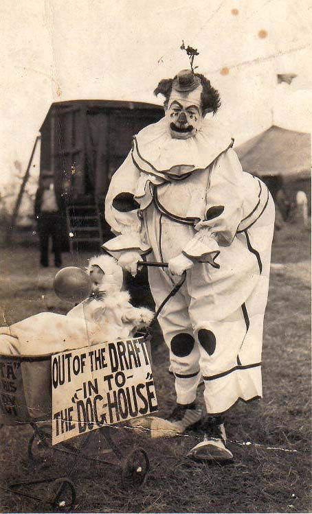 """I have no idea why clowns are stereotyped as being """"scary"""" - no idea whatsoever."""