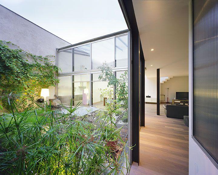esprit loft japonais avec patio arch and home gardens. Black Bedroom Furniture Sets. Home Design Ideas
