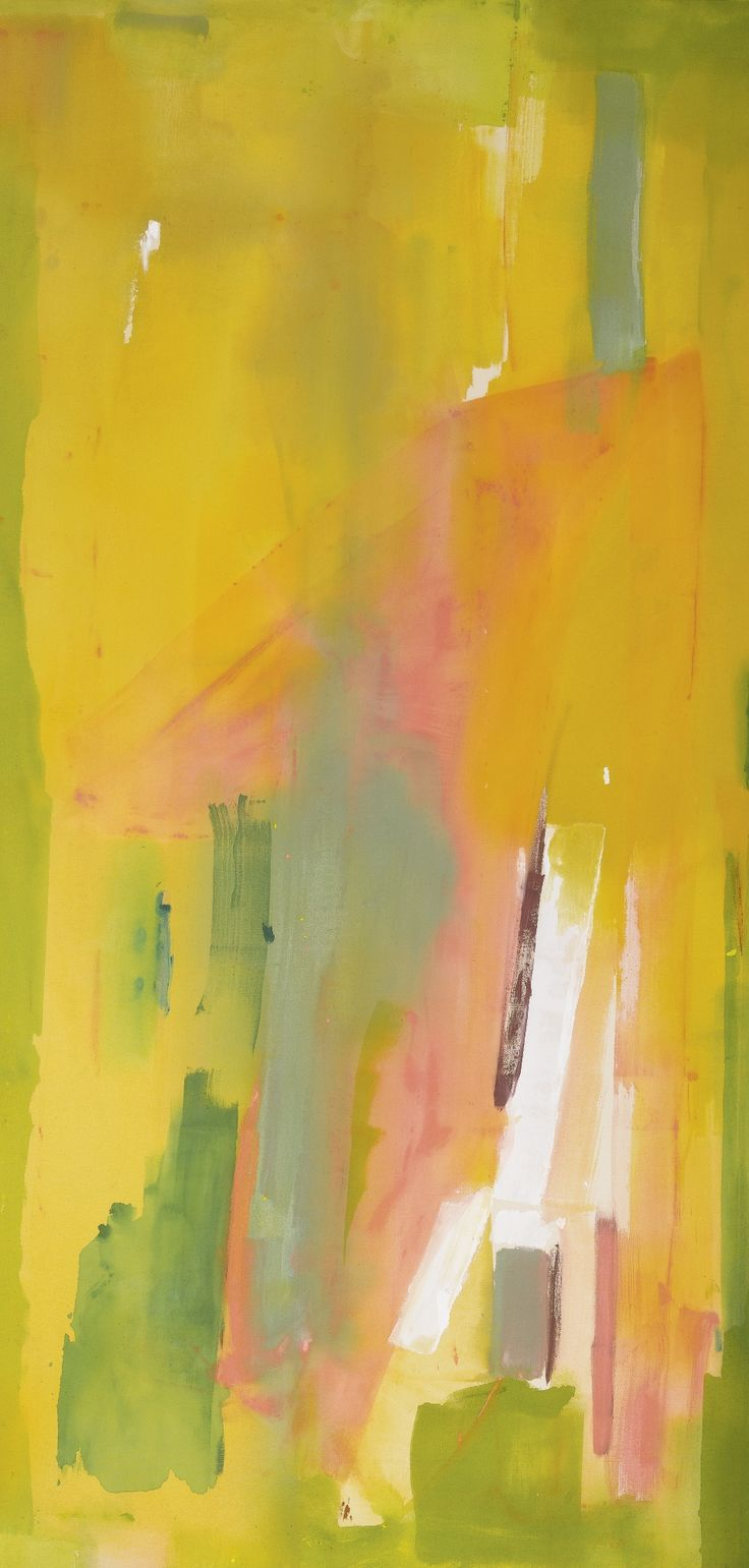 Helen Frankenthaler / Pernod / 1976 / acrylic on canvas
