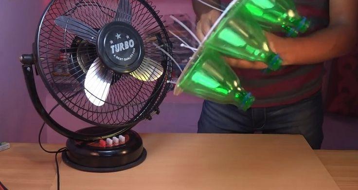 Klimatizácia – škodlivá, no nevyhnutná? Použila som 6 plastových fliaš a vytvorila niečo, čo budete v lete milovať | Báječné Ženy