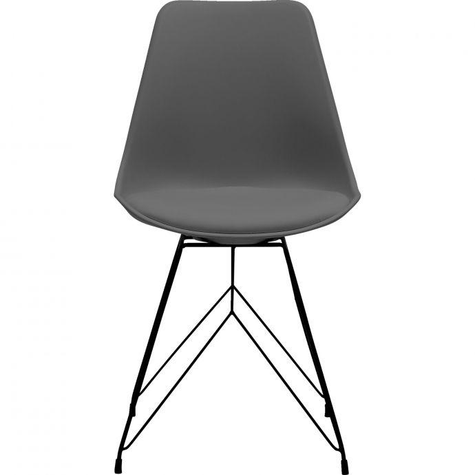 Link szék, antracit/króm – Link székek -  ID Design Életterek - Étkező