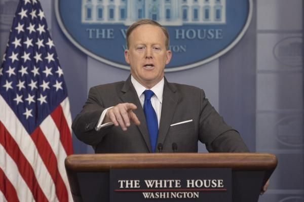 Press secretary Sean Spicer on Tuesday is scheduled to hold a daily press briefing at the White House.