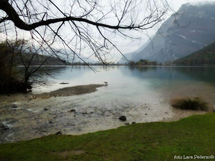 Pioggia nel lago
