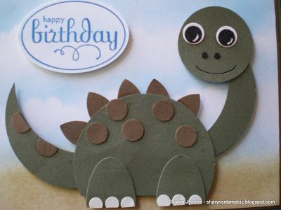 Sharyn's Stamp Biz: A Card For A Boy