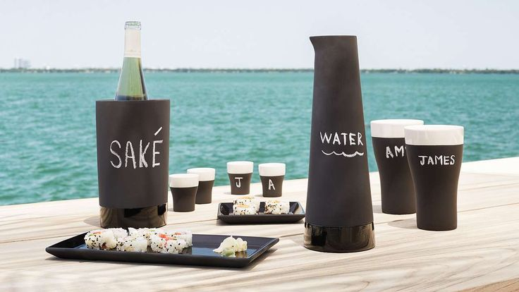 Magisso Naturally Cooling Carafe - kiatchen ware - chalkboard