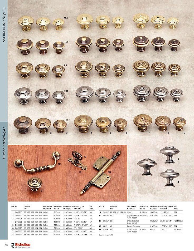 Catalogue - Collection - page 46 - Quincaillerie Richelieu