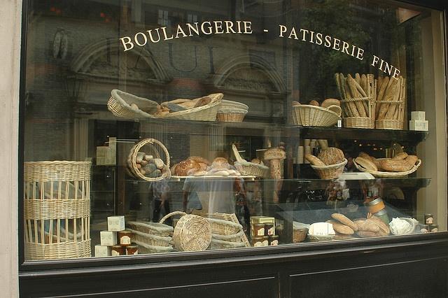 boulangerie window display