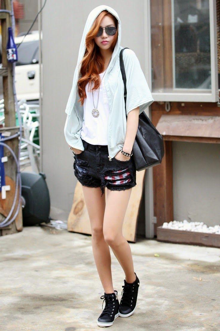 Korean Street Style C Mo Se Visten Las Coreanas En Primavera Mundo Fama Corea Moda
