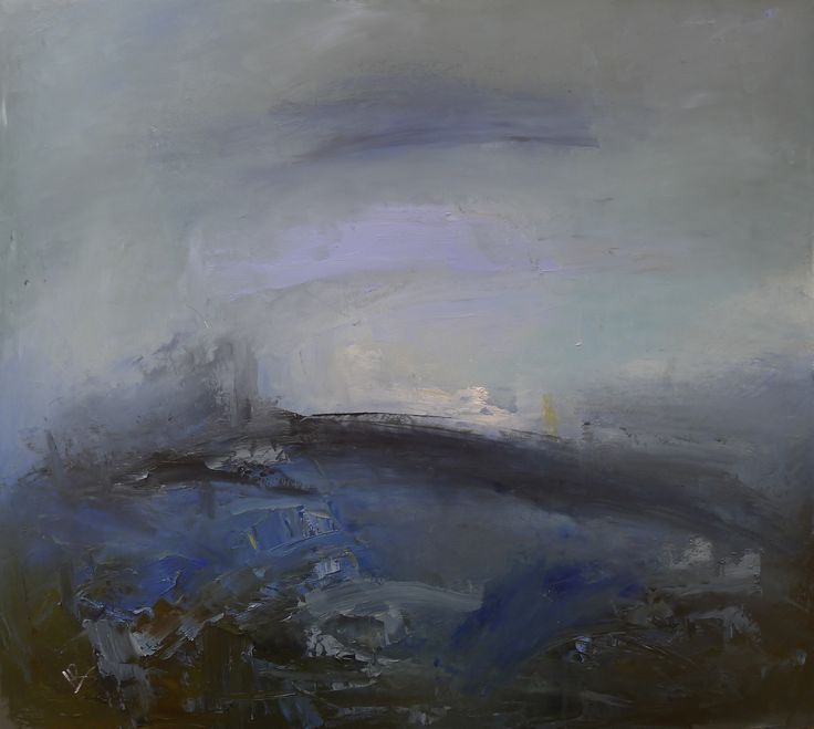 Out beyond the Point 60 x 70 cm Oil on board