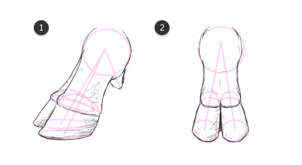 how to draw cow hooves 4