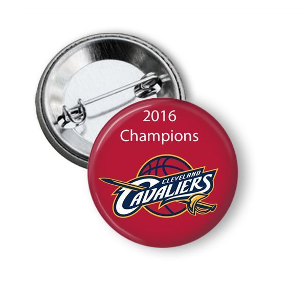 NBA Cleveland Cavaliers 2016 NBA Champions Button Pin #ClevelandCavaliers