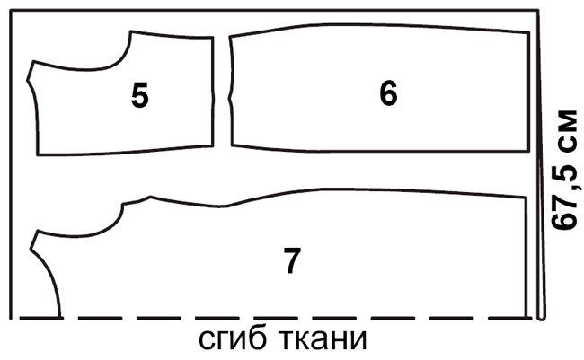 Asimetrik draping ile Desen elbise   pokroyka.ru-kesim ve dikiş dersleri