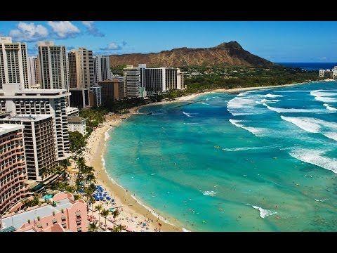 WAIKIKI , HONOLULU - OAHU / HAWAII , USA - A WALKING TRAVEL TOUR - HD 1080P - YouTube