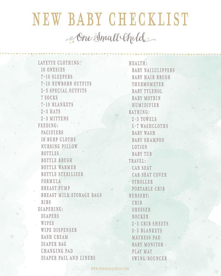 25+ melhores ideias de Lista de verificação do recém nascidos no - newborn checklist