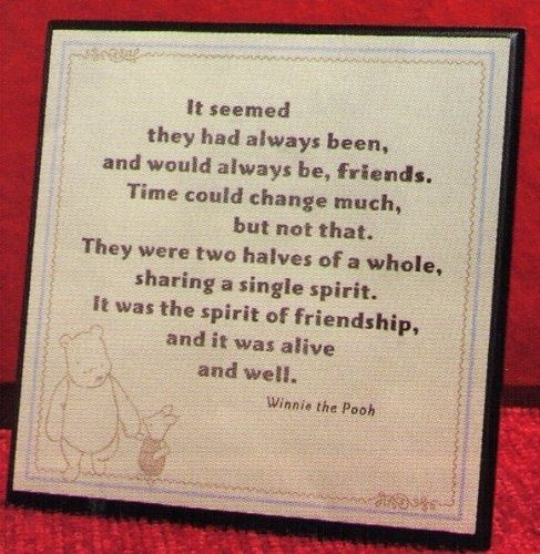 Pooh Quotes About Friendship: 175 Best Images About Winnie The Pooh On Pinterest