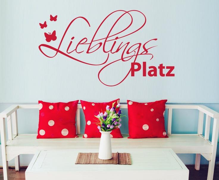 Awesome Wandtattoo Lieblingsplatz FernsOnline Shops