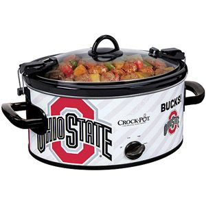 Crock-Pot 6-Quart NCAA Slow Cooker, Ohio StateCrock Pots 6 Quarts, Football, 6 Quarts Ncaa, Cowboy Fans, Georgia Bulldawgs, Ncaa Slow, Slow Cooker, Dallas Cowboys Gifts, Ohio State