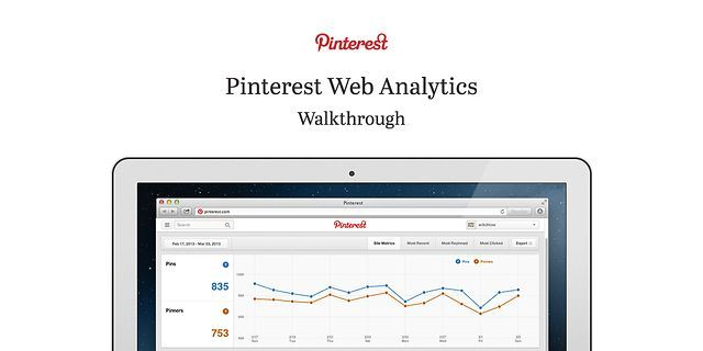 Pinterest Web Analytics Walkthrough by Pinterest. For more information visit business.pinterest.com