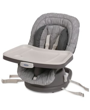 Graco Swivel High Chair Booster Seat - Gray