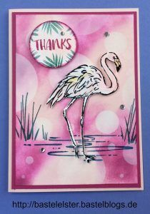 Flamingo-Fantasie | Bastelelster