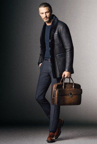 Giorgio Armani Unveils Relaxed Elegance with Fall/Winter 2014 Look Book image
