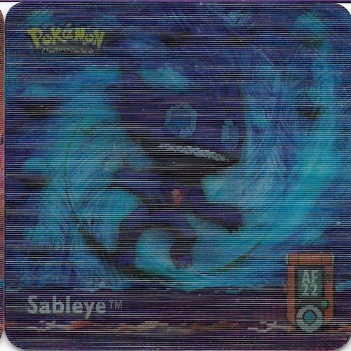 Pokemon Sableye Action Flipz - Pokemon Advanced Series Artbox 5262-22