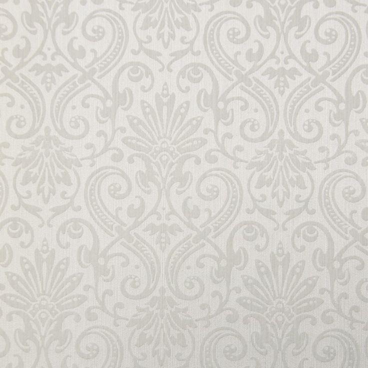 Tapet textil crem floral 072364 Sentiant Pure Kolizz Art