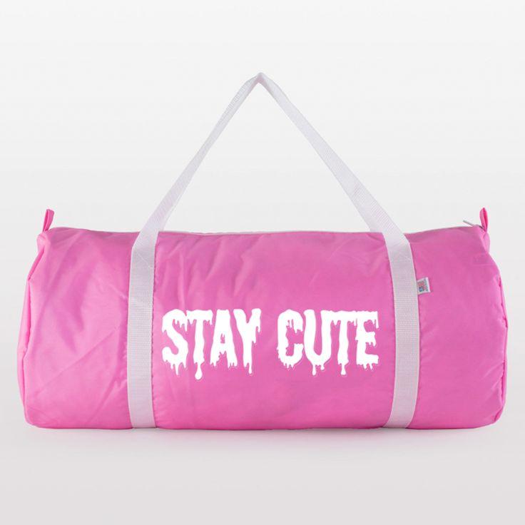 Stay Cute Gym Bag