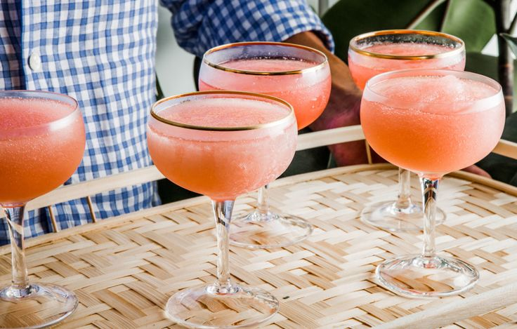 Choose a full-flavored, full-bodied, dark-colored rosé for freezing. It will…