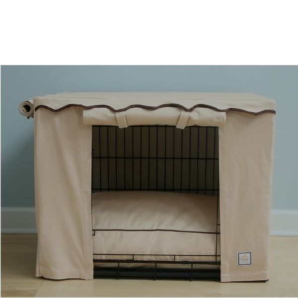 Crate cover for dog cage