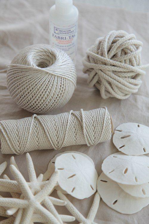 DIY Summer Beachy Napkin Rings by BBB Craft Sisters