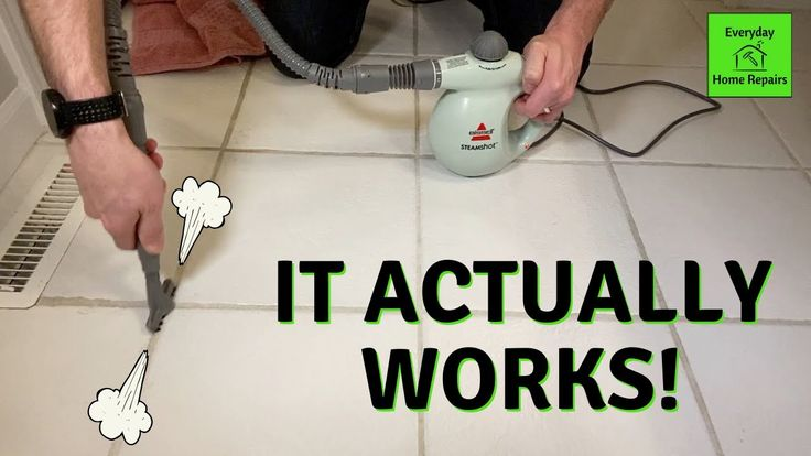 Best Way To Clean Grout Bissell Steam Shot In 2020 Grout Cleaner Bissell Steam Cleaners