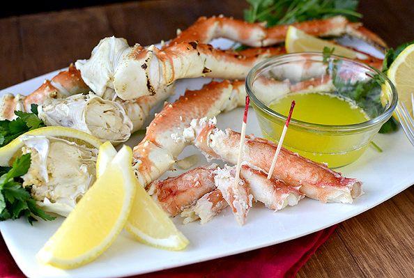 Drunken Alaska King Crab | iowagirleats.com