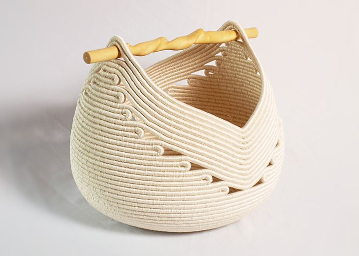 How To Weave A Basket With Rope : Best ideas about rope basket on store
