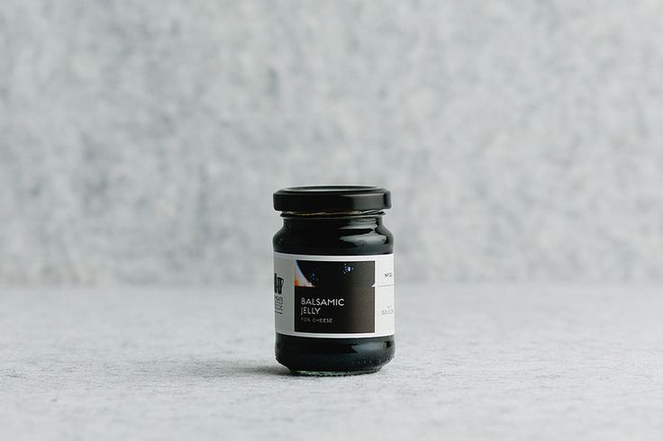 Farmgate cheese: balsamic jelly