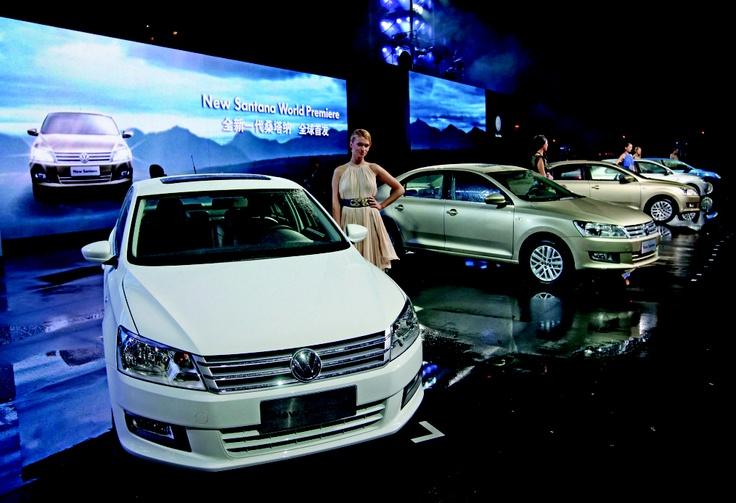 VW apresenta o novo Santana ao mundo