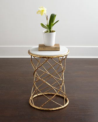 Serenity Side Table at Horchow.