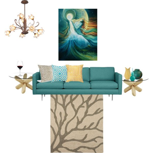 """Teal & Taupe"" by shellytot on Polyvore"
