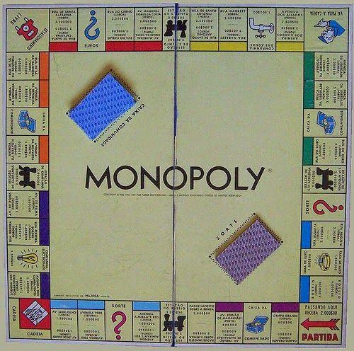 Às Voltas Com o Pensamento: A Vida como um jogo de Monopólio