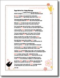 Wedding Shower Pass The Gift Poem : ... Wedding Pinterest Other, Bridal shower games and Bridal shower