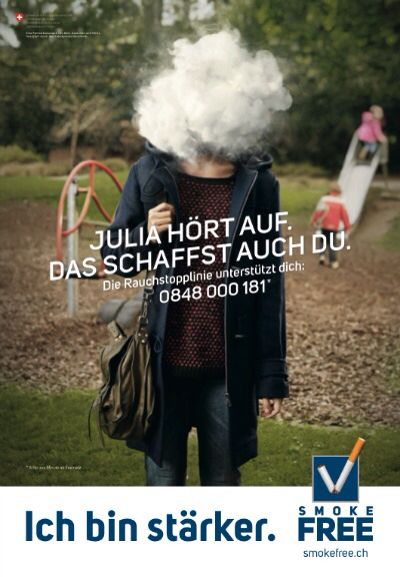 Official Swiss Anti-Smoking Campaign