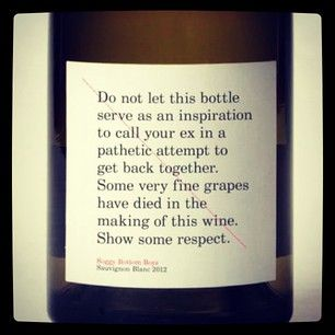 Another wine quote. LOL!