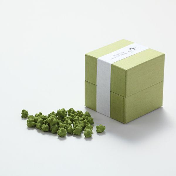プチギフト( お菓子 和風 ) 抹茶の金平糖|LOUNGE WEDDINGのプチギフト