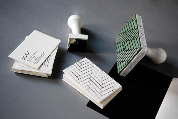 Desain Stempel Karet - Kartu Nama 3