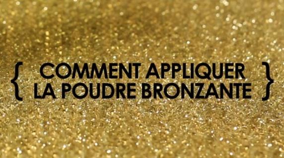 Julie Cusson, maquilleuse nationale #CHANEL, nous montre comment appliquer la #poudre #bronzante pour se faire un #teint hâlé #naturel. #video