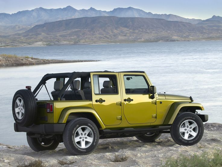 Jeep Wrangler - The Jeep Wrangler is a compact four-wheel drive sport utility vehicle (SUV) and an off-road vehicle manufactured by American automaker ... http://www.jeepsandmore.com/jeep-wrangler/